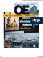 OffShore Engineering May 2013