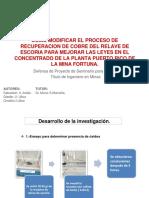Tesis Procesamiento de Escoria en Planta Puerto Rico.