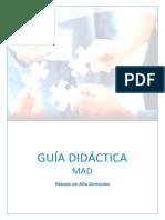 Guía Didáctica MAD 2017