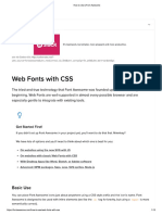 How to Use _ Font Awesome