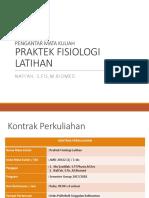 1-Pengantar Mata Kuliah Praktek Fisiologi Latihan