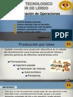 EXPOSICION- Produccion Por Lotes