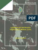 Tecnologia Menos Leta - Exercito Brasileiro - 70-CI-11.415