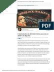 6 Ensinamentos de Sherlock Holmes Para Ser Um Detetive de Big Data _ Daniel Serman _ LinkedIn