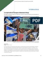 Los Empresarios de Nicaragua Se Distancian de Ortega _ Internacional _ EL PAÍS
