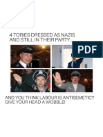 Tories Dressed as Nazis