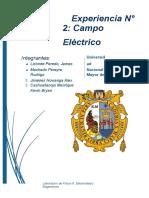 289691569 Informe 2 Campo Electrico