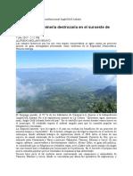 Lo Que La Gran Minería Destrozaría en El Suroeste de Antioquia