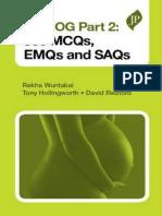 Mrcog Part 2-550 Mcqs,Emqs and Saqs