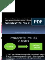 Comunicación Con El Cliente Material Para El Alumno