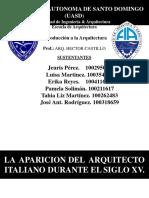 Introduccion a la arquitectura