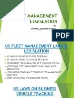 FLEET MANAGEMENT LEGISLATION.pptx