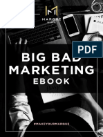 Marque Media's Big Bad Marketing eBook