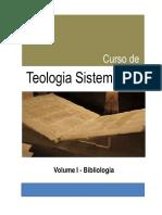 Teologia Sistematica - Vol i - Bibliologia