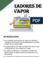 Generadores de Vapor Exposicion