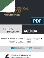 tspe ethics