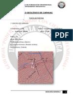 Carhuac - Geologia I