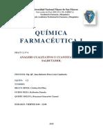 Analisis Cualitativo y Cuantitativo de Salbutamol