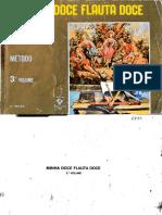 Minha Doce Flauta Doce 3o Volume -Mário Mascarenhas