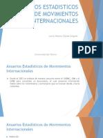 Anuarios Estadisticos de Movimientos Internacionales (1)