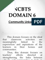 Ncbts Domain 6