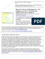 Ungo2012-A Competitive Analysis of Panama Canal Routes