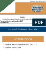 05 - Clase Práctica 01 Instalar Linux Centos 7