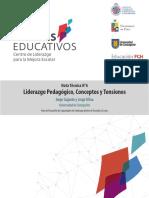 Concepto de Liderazgo Pedagogico o Instruccional