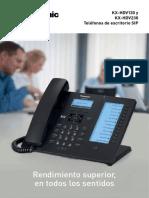 Brochure Panasonic HDV230