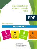 Estrategia de Resolución de Problemas 1er Ciclo POLYA
