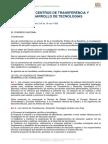 Ley de Centros de Transferencia y Desarrollo de Tecnologías