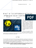 Www.atexdb.eu Atex Article What is the Difference Betwe