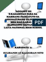 Filipino Major Ppt
