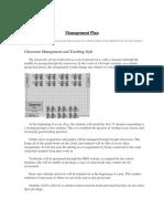management plan   syllabus