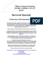 Survival Journal 15.9