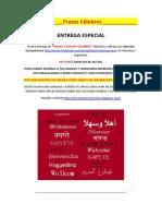 Frases y Dichos Célebres 26°