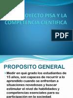 El Proyecto Pisa y La Competencia Cientifica