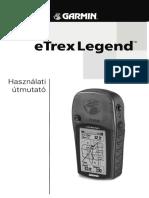 Garmin Etrex Legend User Manual