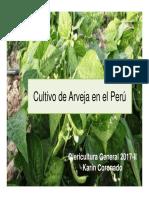 Oleri-cultivo de Arveja