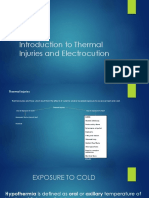 Thermal Injuries