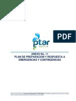 Plan de Preparacion y Respuesta a Emergencias y Contingencias FASE II