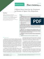 International Journal of Nutritional Sciences