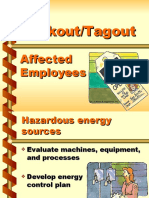 Lockout-Tagout Affected Employees