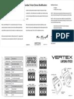 Vertex Landau Stereo Chorus Mod Manual
