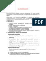 Organizaciones y Teoría Organizacional Oficial