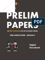 Exam18 ICSE Sample Paper English Literature
