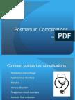 Perinatl Postpartum Complications