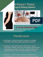 Dasar-dasar Pemeriksaan USG Obstetri