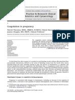Coagulation in Pregnancy