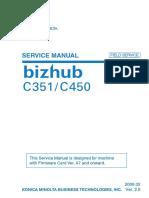 Bizhub c 351 Service Manual